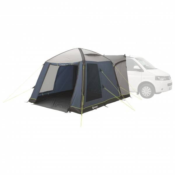 Outwell - Milestone Air - Auvent camping-car gris/noir