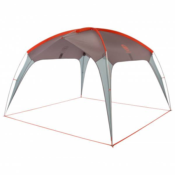Big Agnes - Three Forks Shelter - Auvent camping-car taille One Size, gris