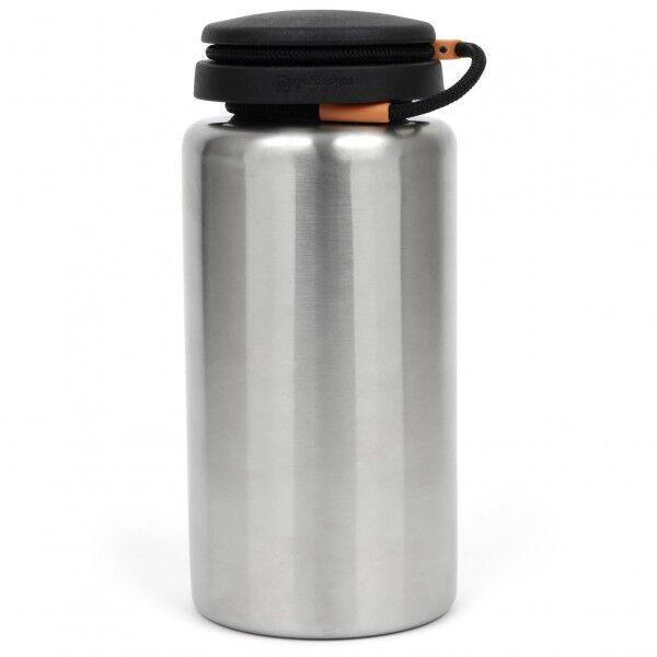 Nalgene - Edelstahlflasche Standard - Gourde taille 1,1 l, gris