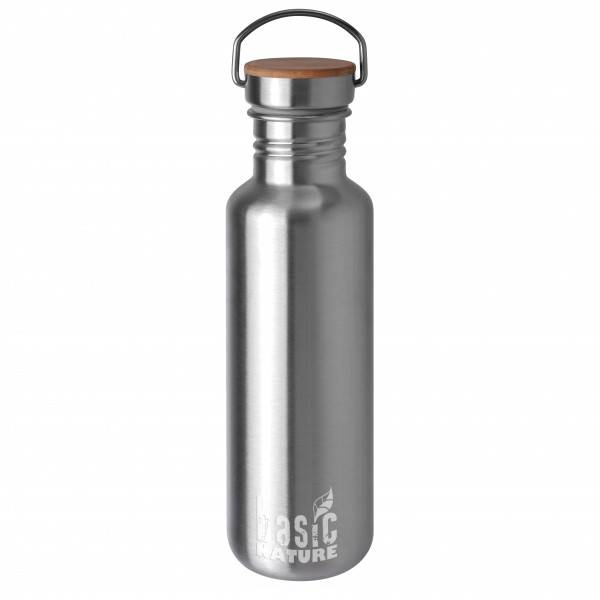 Basic Nature - Trinkflasche Active - Gourde taille 1,2 l, gris/noir