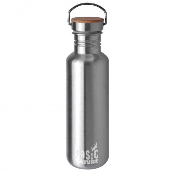 Basic Nature - Trinkflasche Active - Gourde taille 0,75 l;1,2 l, gris/noir