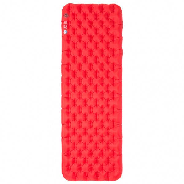 Big Agnes - Insulated AXL Air 25X78 - Matelas de camping taille 64 x 198 cm - Wide Long, rouge