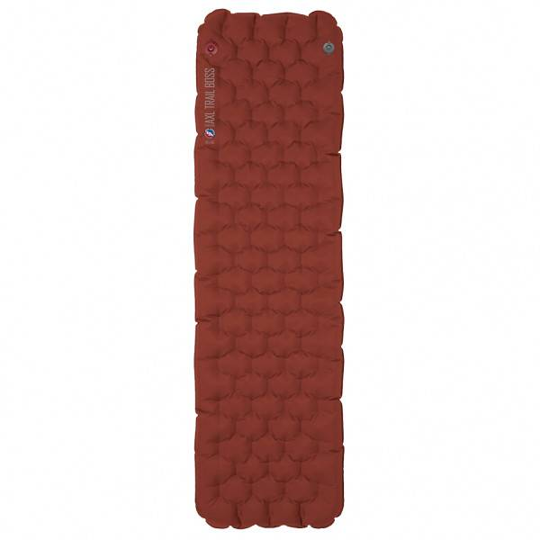 Big Agnes - Insulated AXL Trail Boss Air Pad 20X72 - Matelas de camping taille 51 x 183 cm - Regular, rouge