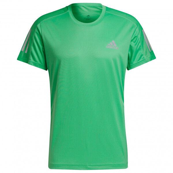 adidas - Own The Run Tee - T-shirt technique taille L;M;S;XL;XS;XXL, noir;rouge;bleu