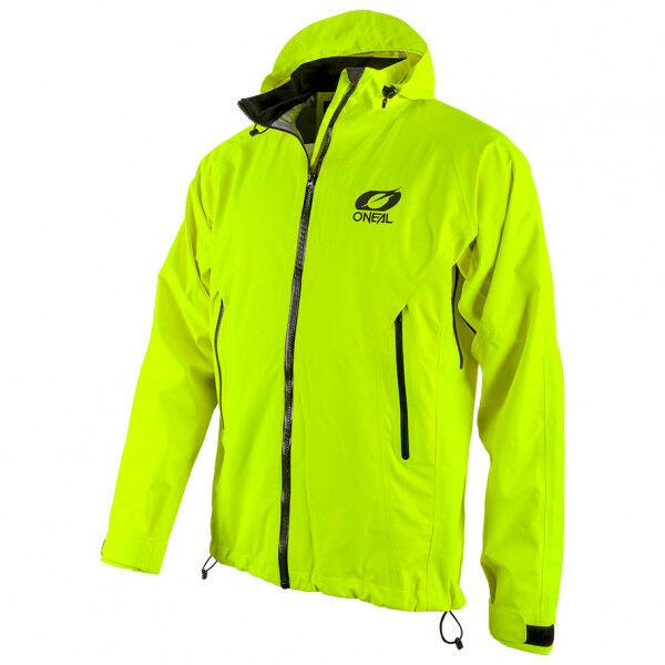 o'neal - tsunami rain jacket - veste de vélo taille xl, vert