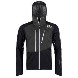 Ortovox - Pordoi Jacket - Veste softshell taille S, noir