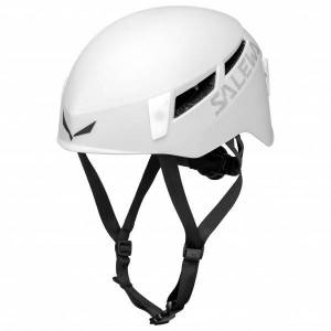Salewa - Pura Helmet - Casque d'escalade taille L/XL, gris/blanc