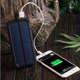 Huismerk Batterie Externe Powerbank - Puissance Extra - Solaire - 20 000 mAh