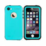 CaseProof Étui étanche étanche CaseProof bleu iPhone 5 5s SE - Turquoise