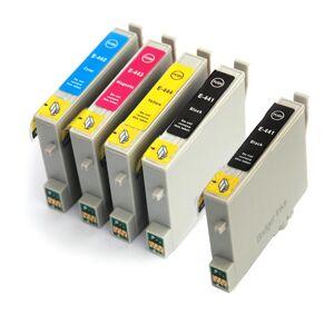 EPSON Pack compatible EPSON T044, 5 cartouches - Publicité