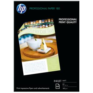 Ramette A4 HP Professional Inkjet (Q6592A) Papier Mat 180 g/m A4 - Publicité