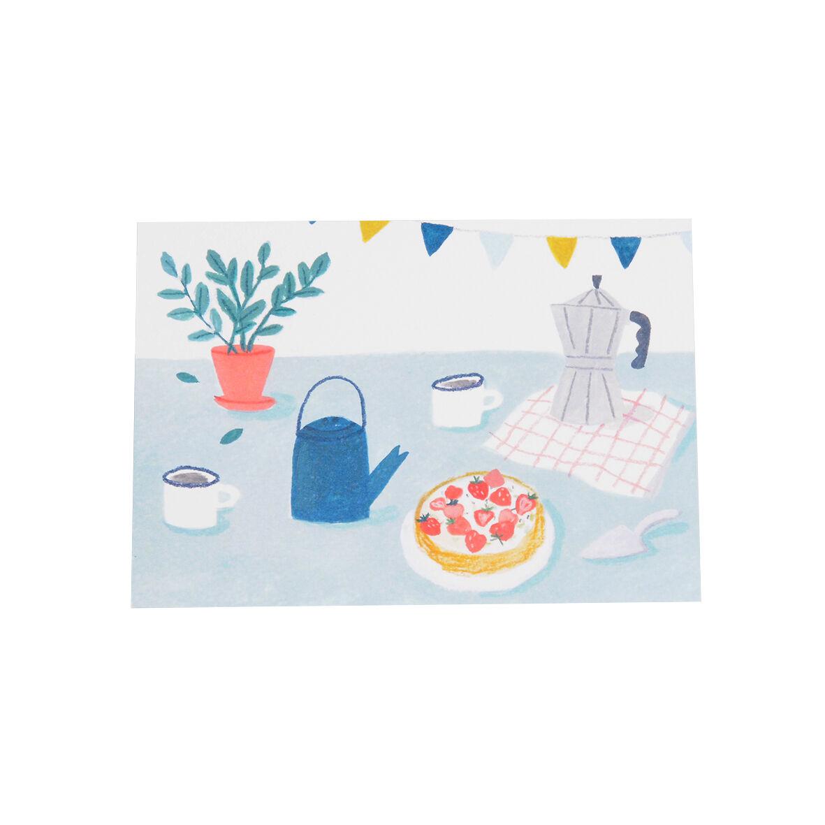 Dille&Kamille Carte, gâteau sur table