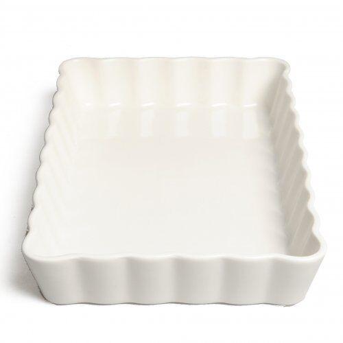 Dille&Kamille Mouleà tarte/quiche, porcelaine, rectangulaire, 32 x 21 cm