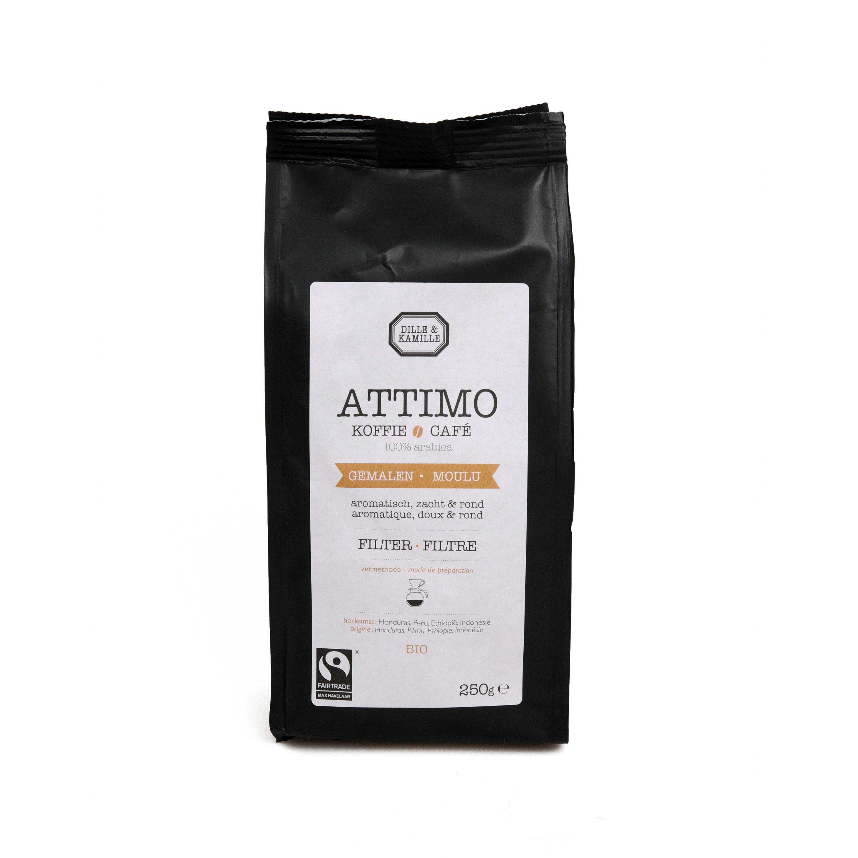 Dille&Kamille Café Attimo, filtre, moulu, 250g