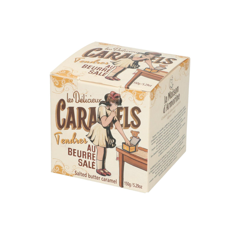 Dille&Kamille Caramels dans une jolie boîte, 150 g
