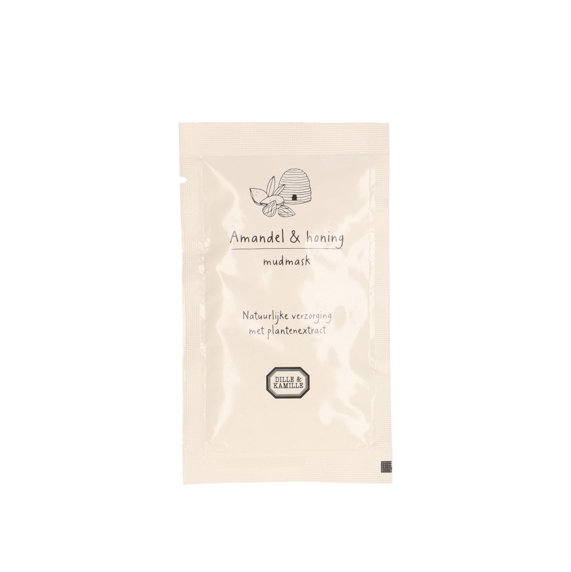 Dille&Kamille Masque boue, amande&miel, 15 ml