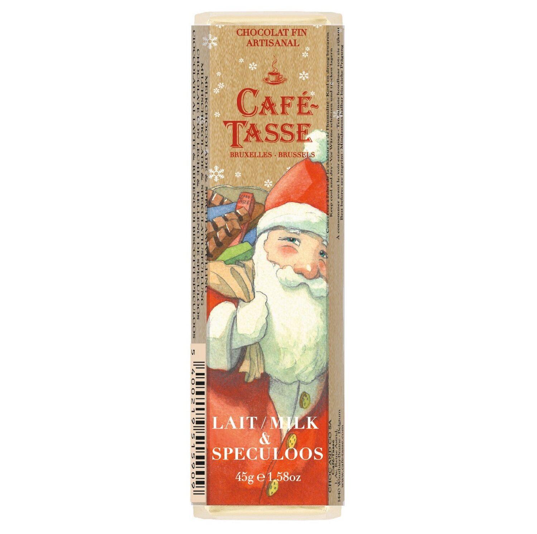 Dille&Kamille Chocolat, Noël, lait&spéculoos, 45 g