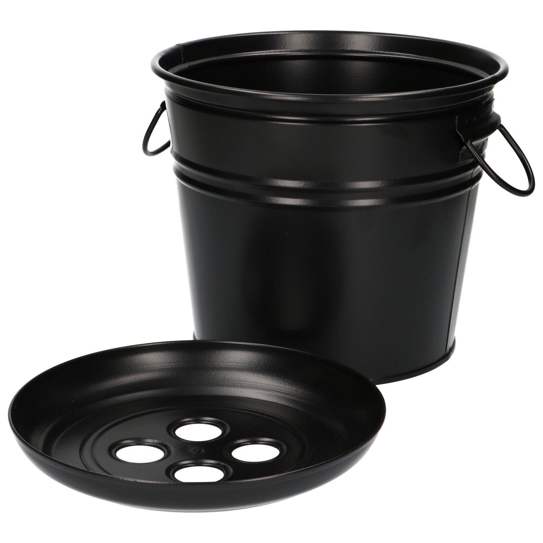 Dille&Kamille Seauà compost, zinc