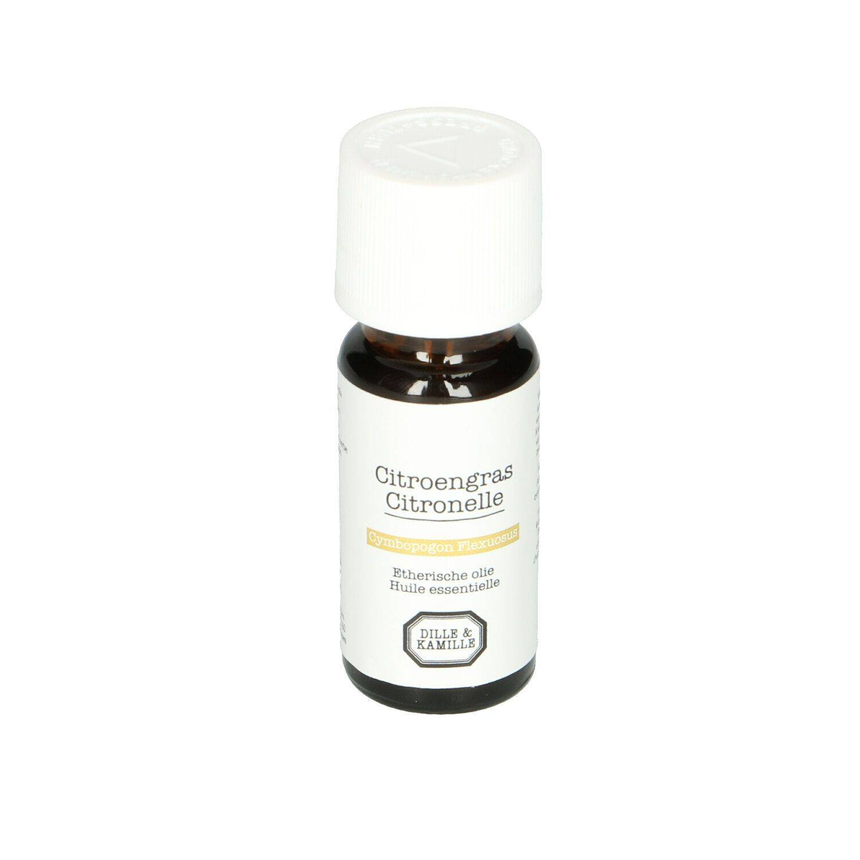 Dille&Kamille Huile essentielle, citronnelle, 10 ml