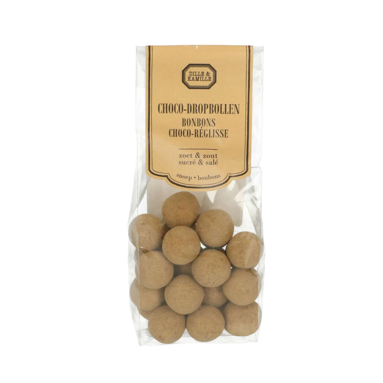 Dille&Kamille Bonbons Choco-réglisse, 150 g
