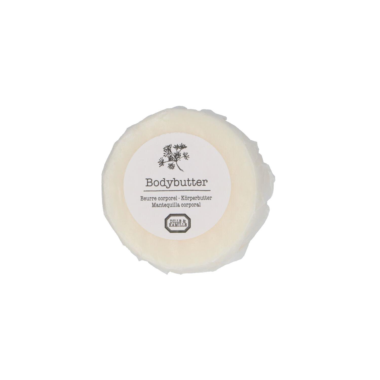 Dille&Kamille Barre de crème corporelle à base de beurre, 80 grammes