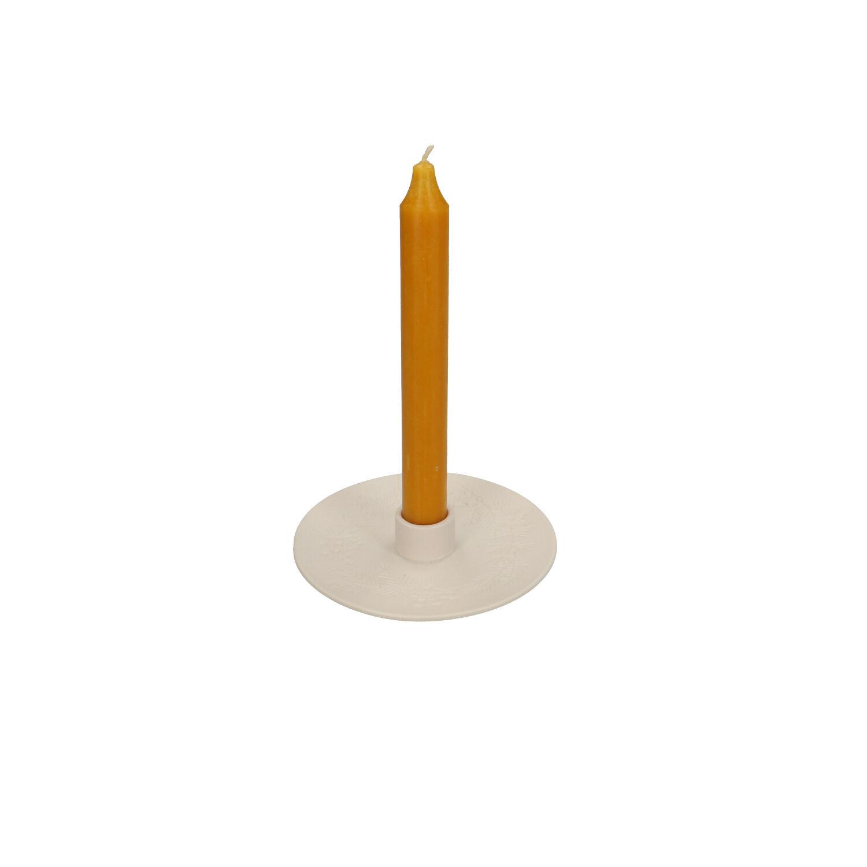 Dille&Kamille Bougeoir, couronne de Noël, porcelaine, Ø 13 cm