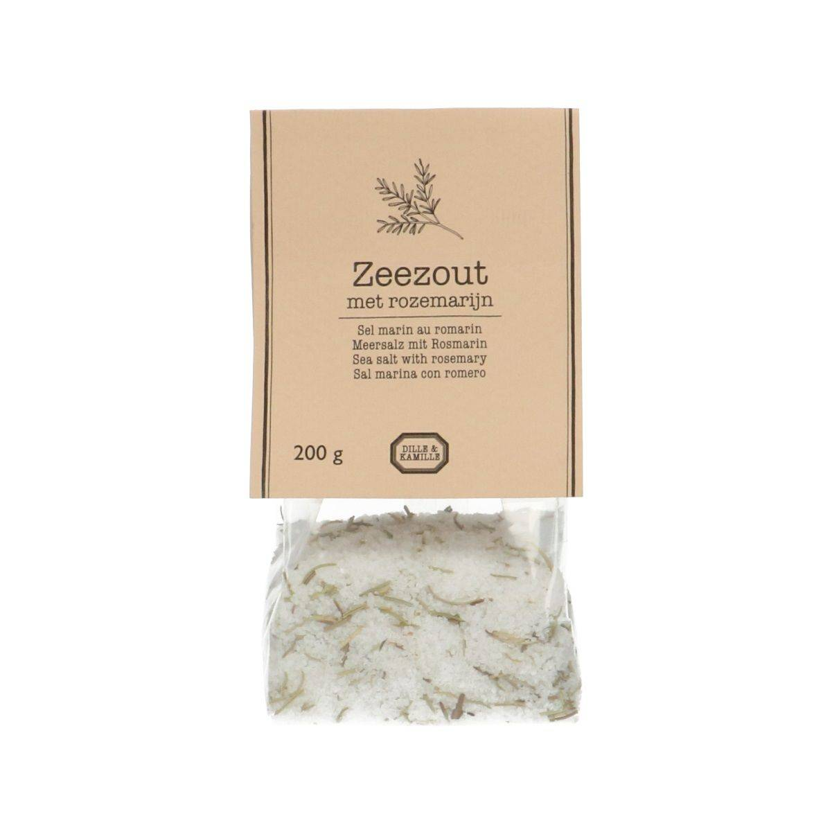 Dille&Kamille Sel marin au romarin, 200 g