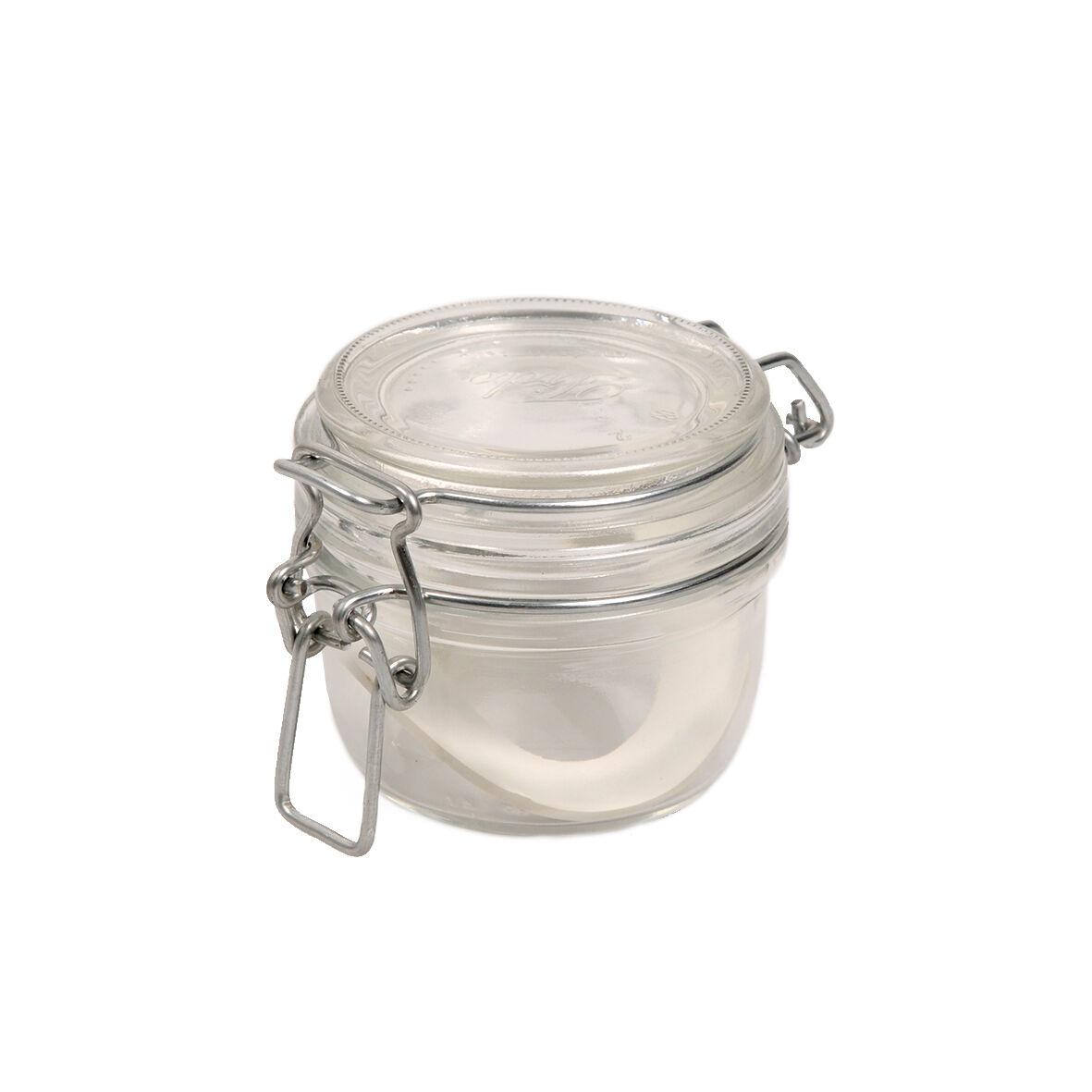 Dille&Kamille Bocal carré à fermeture mécanique, 125 ml