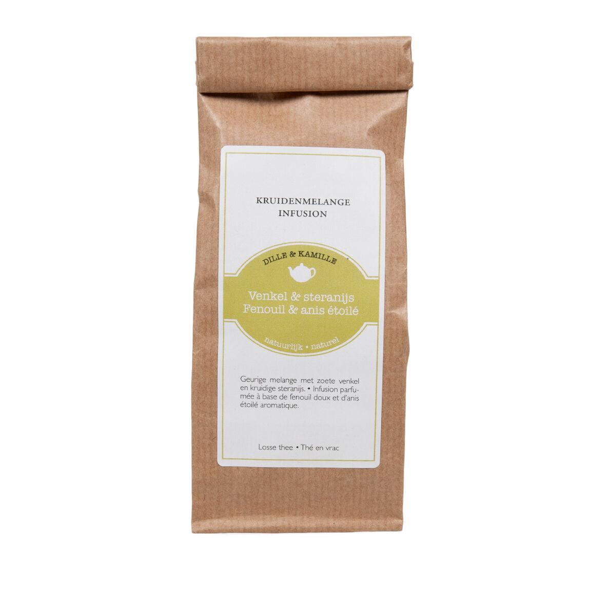 Dille&Kamille Infusion, fenouil&anisétoilé, 75 g