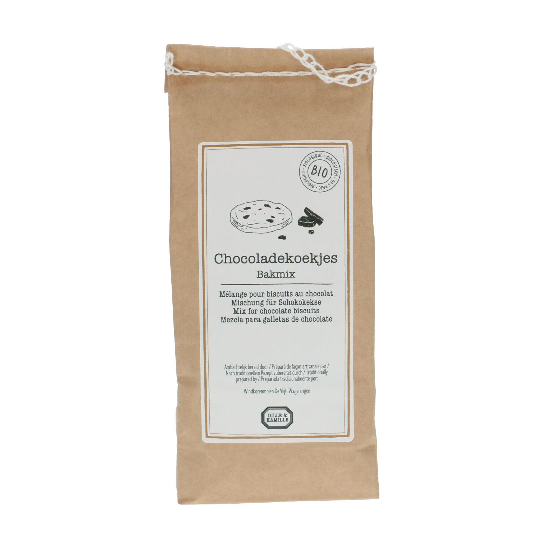 Dille&Kamille Mélange de farine pour biscuits aux chocolat biologique 500 grammes