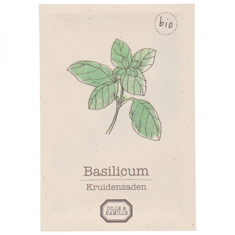 Dille&Kamille Graines de plantes aromatiques, biologique, basilic