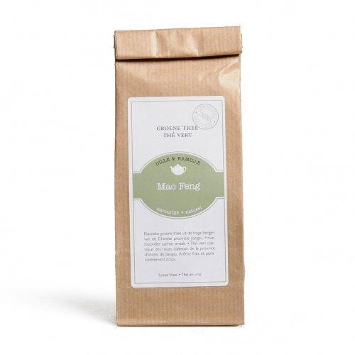 Dille&Kamille thé vert, Mao Feng, 75 grammes