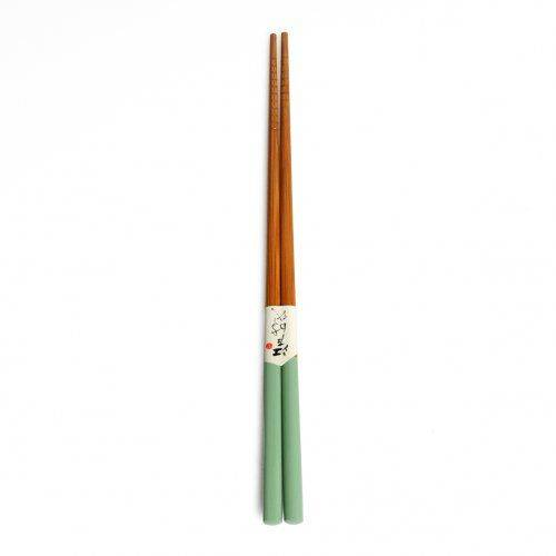 Dille&Kamille Baguettes en bambou, vert