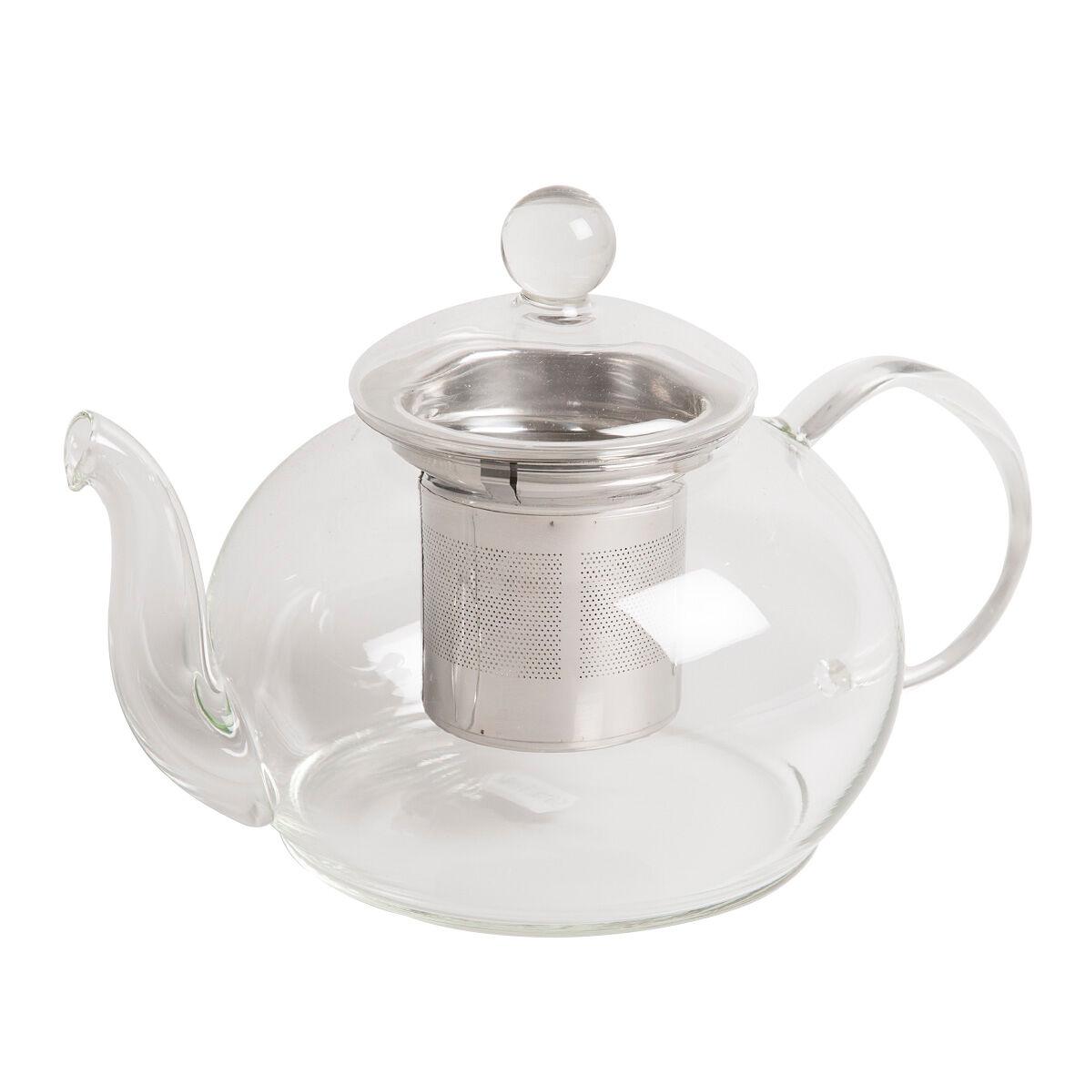 Dille&Kamille Théière avec filtre à thé en inox, verre, 800 ml