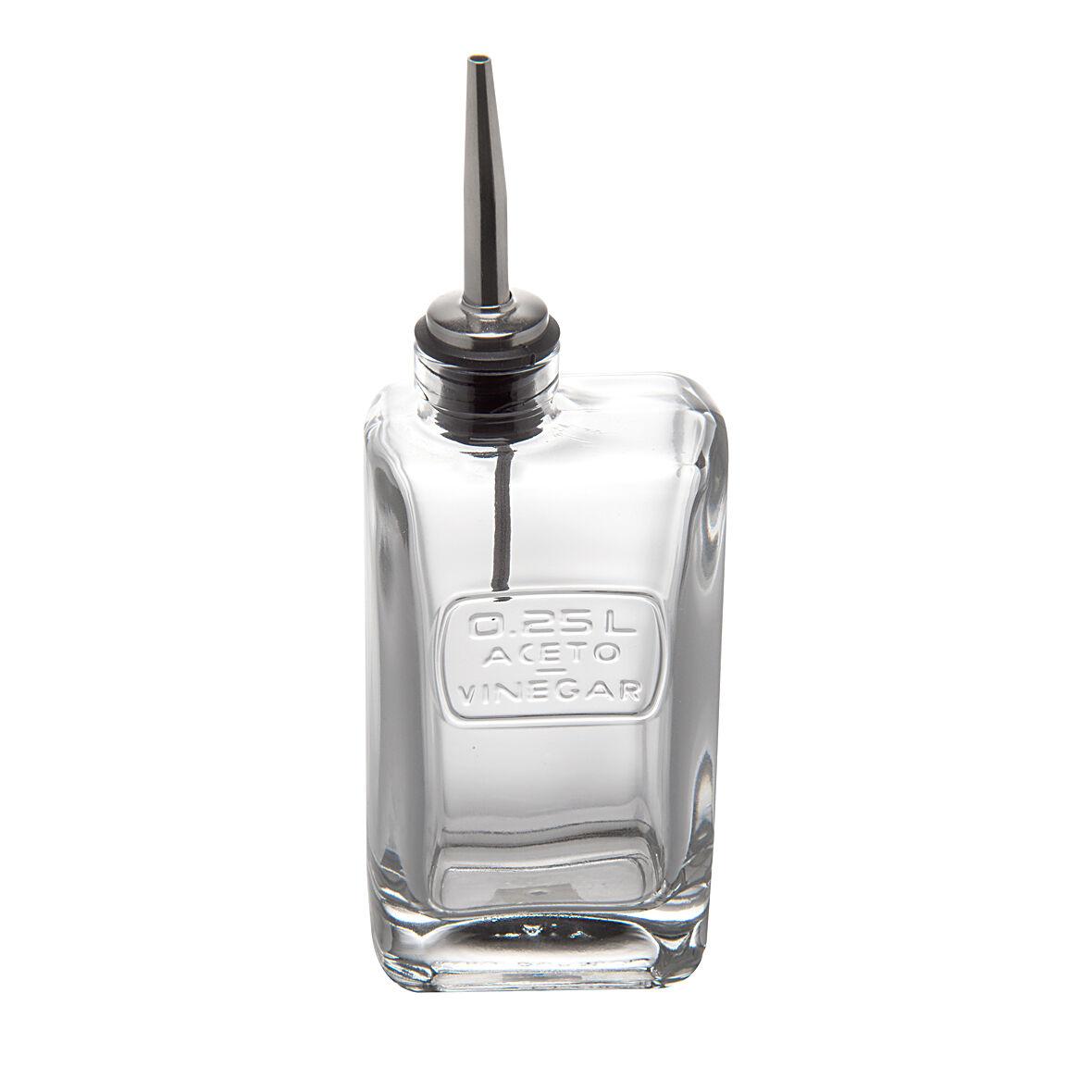 Dille&Kamille Petite bouteille de vinaigre, rectangulaire, 0,25 l