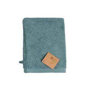 Dille&Kamille Gant de toilette, coton bio, vert sauge, 20 x 15 cm