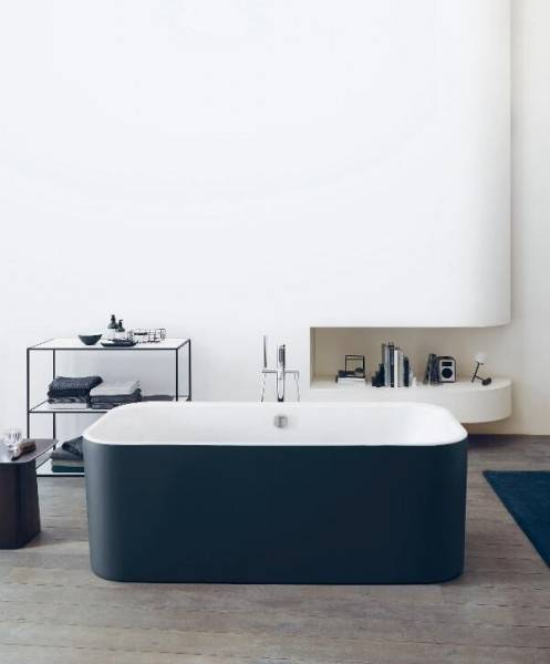 DURAVIT Baignoire Rectangulaire Duravit Happy D.2 Plus System Air 1800x800mm Graphite mat
