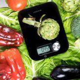 Ikohs.com PONDUS BLACK - Balance de Cuisine sans piles Noir