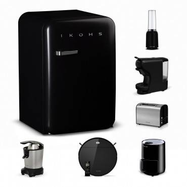 Ikohs.com NEW LIFE Pack - Robot NETBOT S12 + Cafetière POTTS + Blender MOI + Presse-Agrumes ZUMIK + Grille Pain...