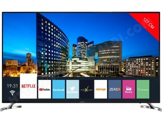 GRUNDIG TV LED 4K 127 cm 50VLX7860