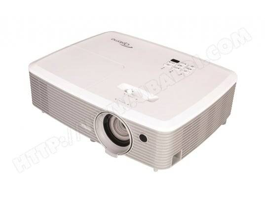 OPTOMA Video Projecteur Optoma X345 blanc, 3D, 29 dB(A) ECO, HDMI, VGA