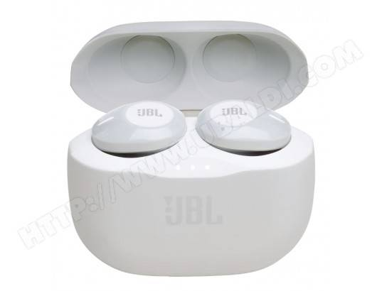 JBL Casque sans fil Blanc T120TWSWHT