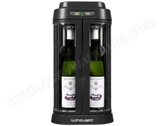 artevino bar à vins wine art noir/argent