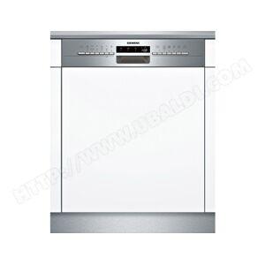 SIEMENS lave-vaisselle 60cm 12 couverts a++ intégrable avec bandeau apparent inox - sn536s02ge - Publicité