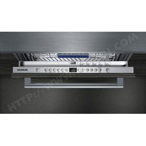 SIEMENS Lave vaisselle tout integrable 60 cm SX736X19ME Grande hauteur Porte à glissières - Publicité