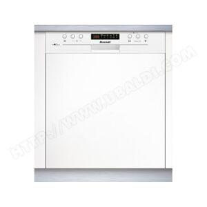 BRANDT Lave vaisselle integrable 60 cm VH15W - Publicité