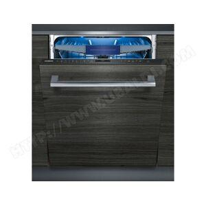 SIEMENS Lave vaisselle tout integrable 60 cm SN658X06ME - Publicité