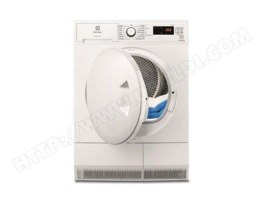 electrolux sèche-linge frontal à condensation 60cm 7kg b blanc - ew6c4735sc