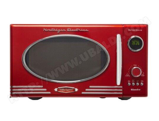 SIMEO micro-ondes 25l 800w rouge - fc810