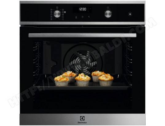 ELECTROLUX four intégrable 72l 60cm a+ pyrolyse inox - eod6p60x